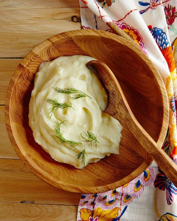 Kohlrabi & Potato Puree