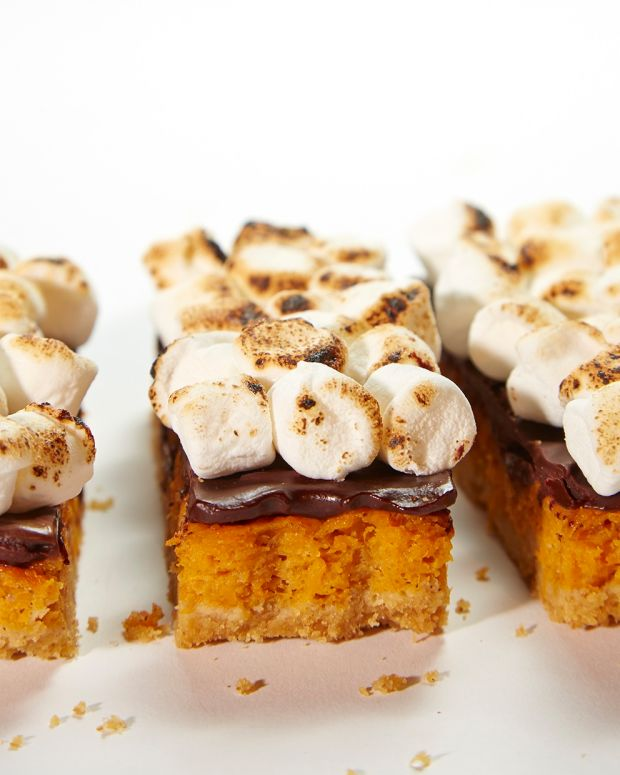 S'mores With Sweet Potatoes