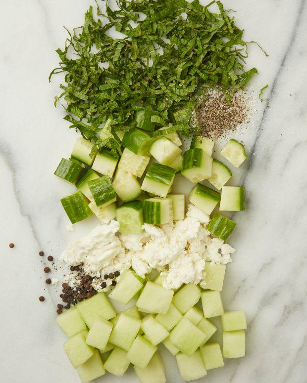 Honeydew Cucucmber Salad