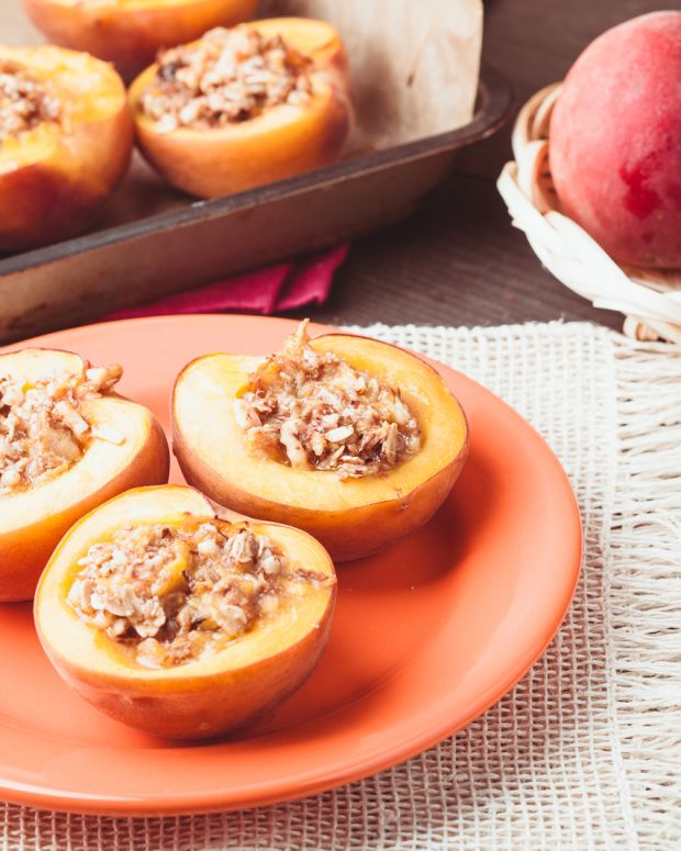 almond peaches
