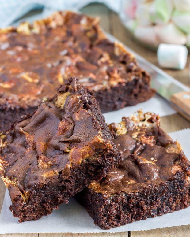 fabulous cookie brownies