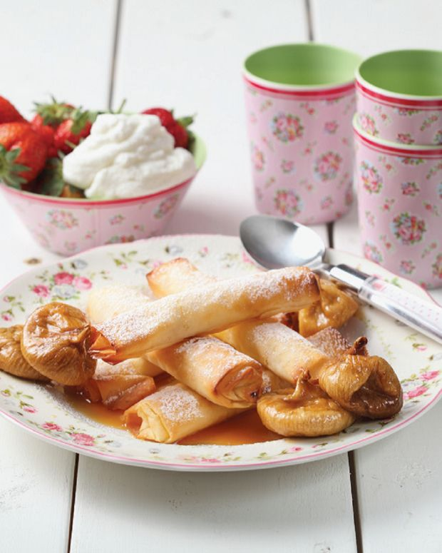 Cheese & Fruit Mille-Feuille