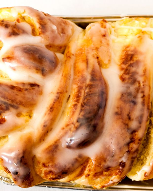 Caramel Apple Babka