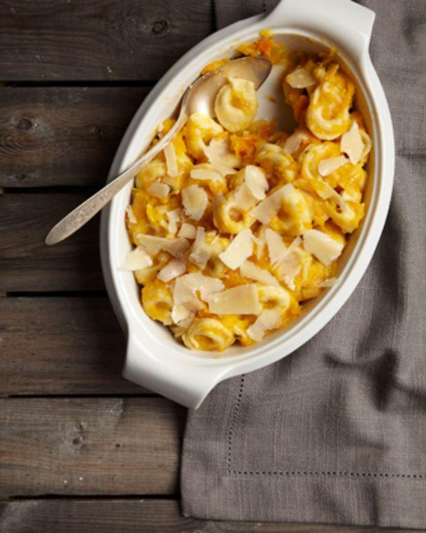 Butternut Squash & Leek Tortellini