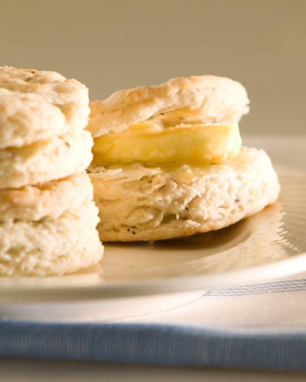 Herb Baking Powder Biscuits