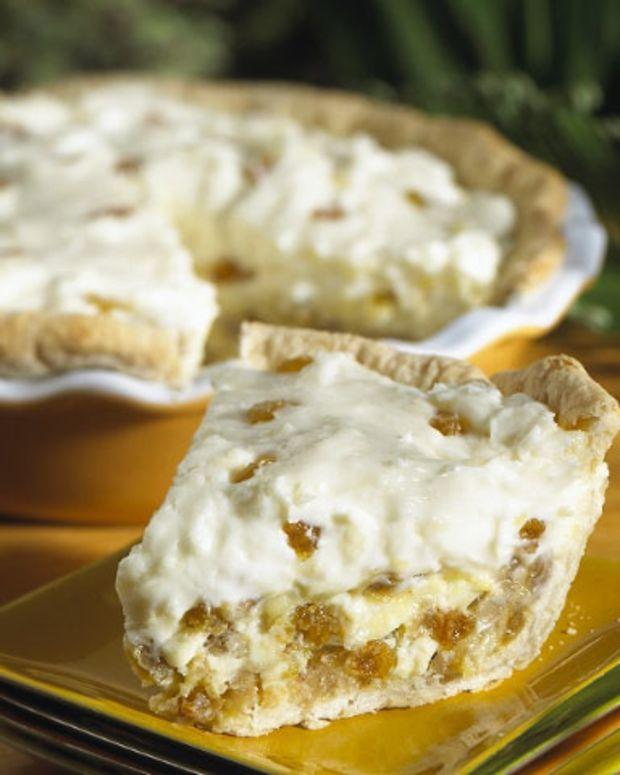 California Nuggets of Gold Raisin Pie