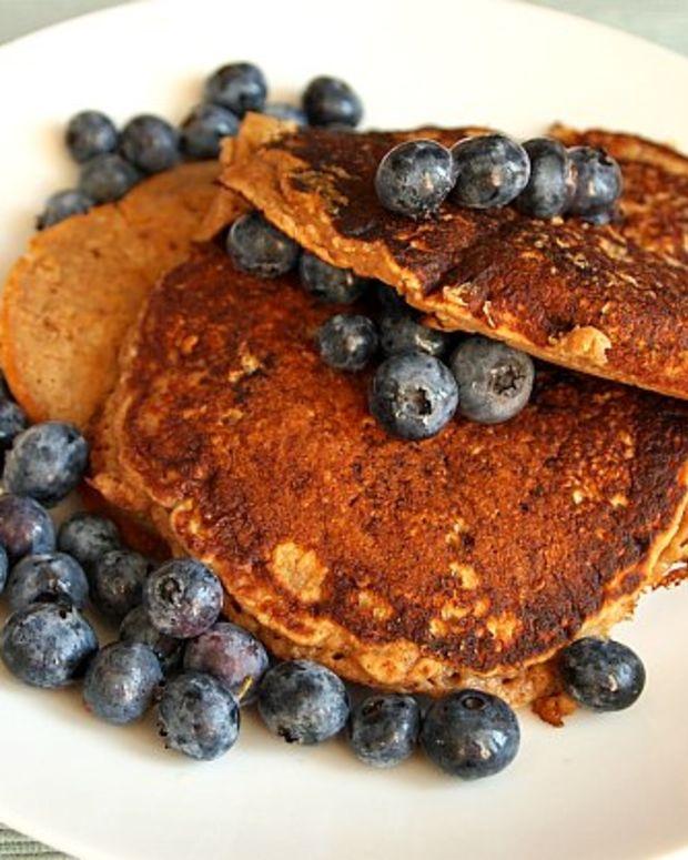 Leftover Oatmeal Pancakes