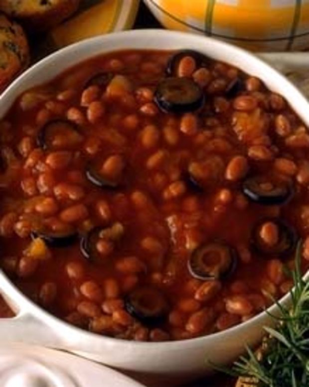 Tahitian Tango Barbequed Baked Beans