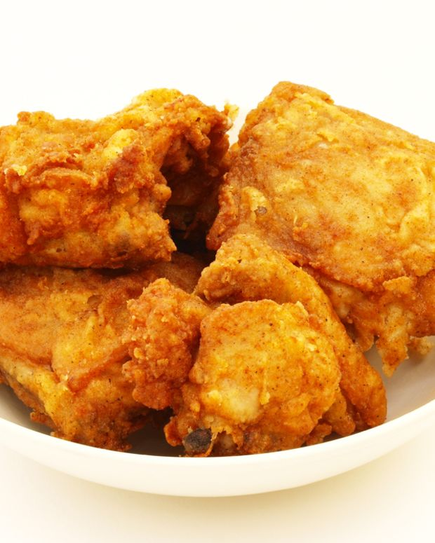 crispy kosher fried chicken