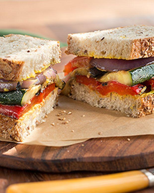 Grilled Herbed Veggie Sandwich