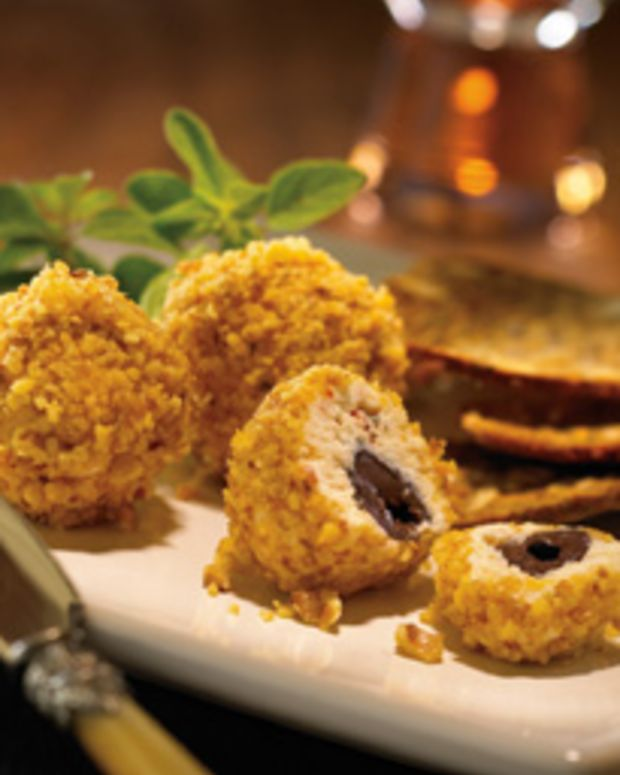 California Walnut Coated Cheese Truffles