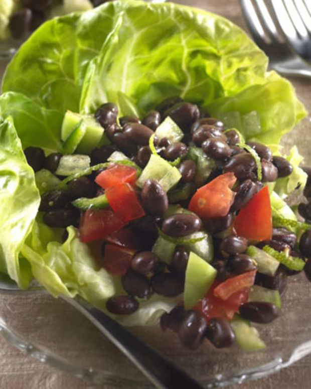 Lime-Zested Tomatillo-Black Bean Salad