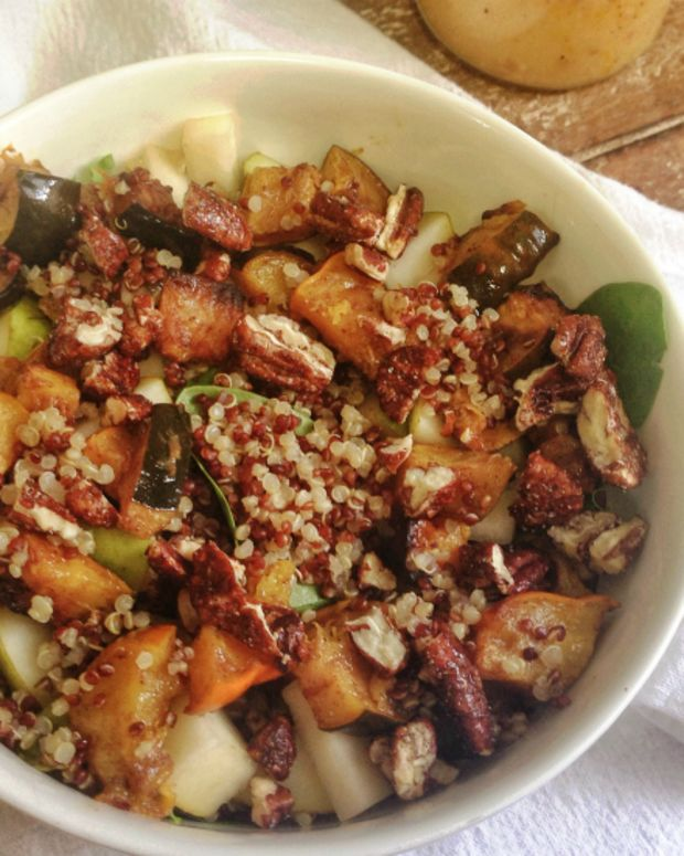 winter quinoa salad