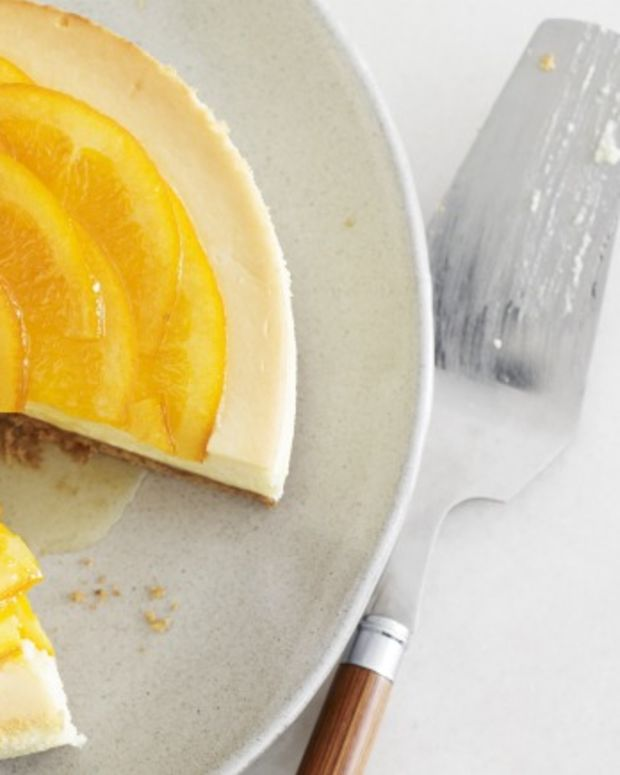 Candied Orange Cheesecake