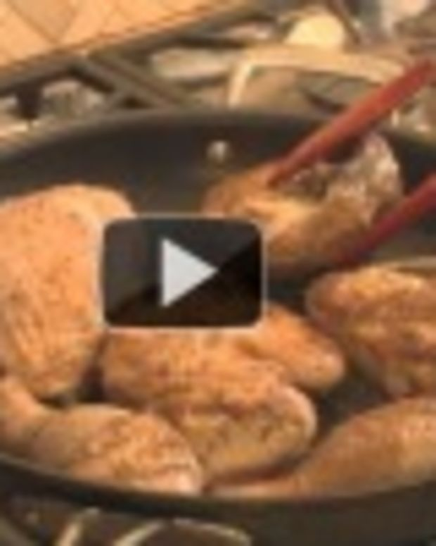 chicken with apples video