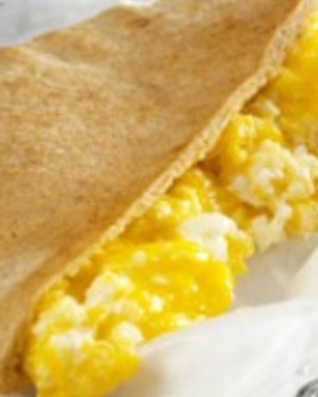 Cheesy Egg Scrambler