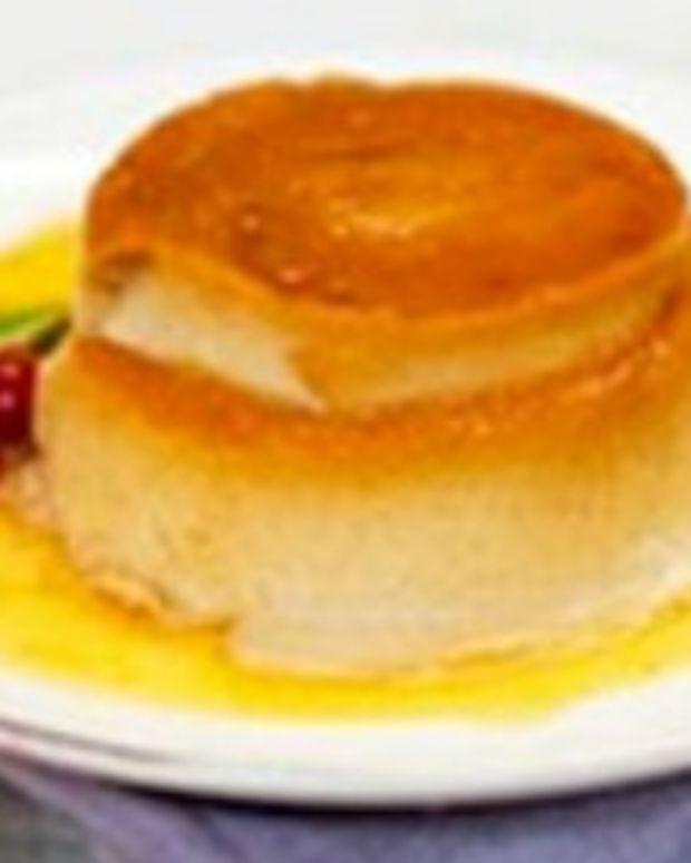 Merry Mango Flan