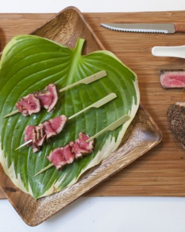 Peppered Seared Tuna