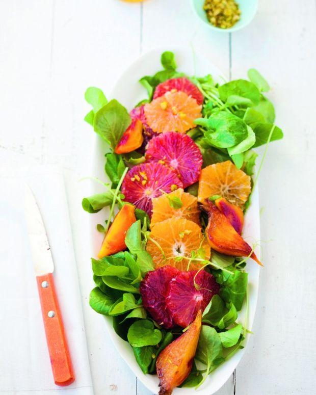 roasted beet orange salad