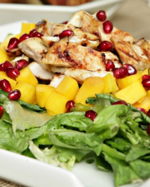 Grilled Chicken Mango Salad