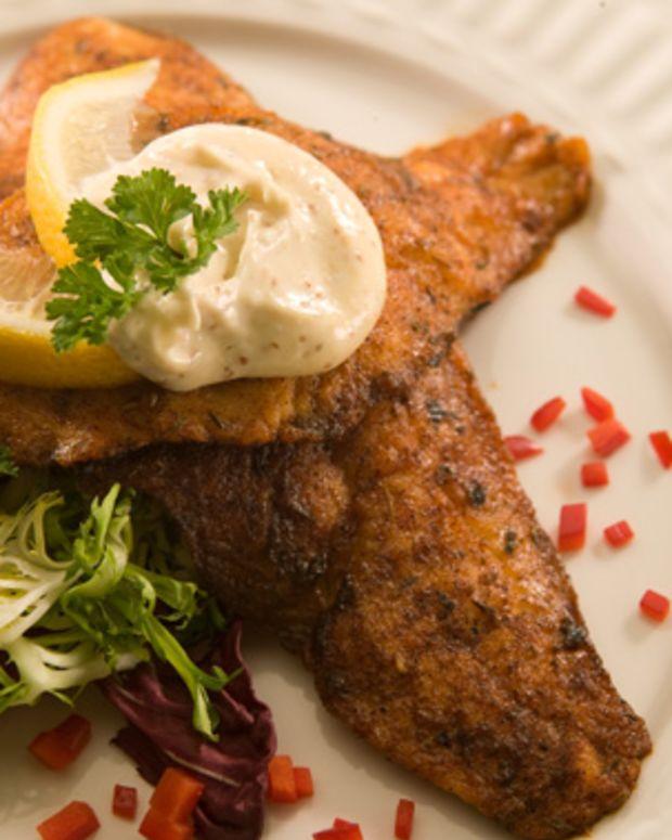 Cumin Crusted Fish