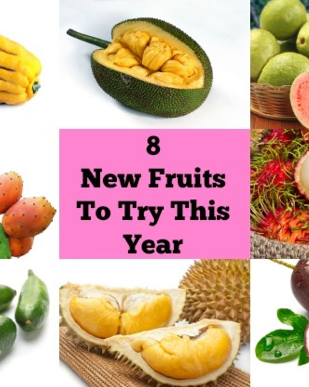 8 new fruits