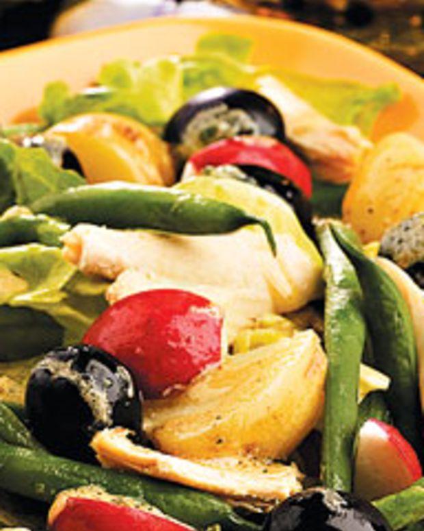 Dijon Roasted Chicken Salad