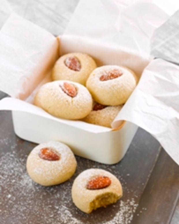 Almond Orange Cardamom Cookies