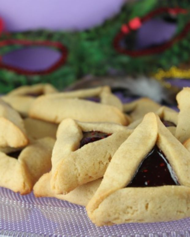 Peanut Butter and Jelly Hamentaschen