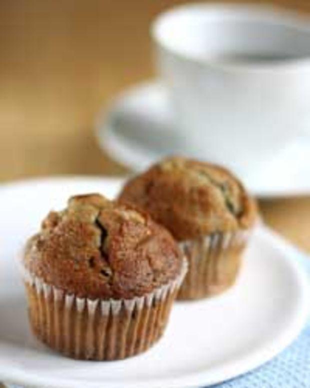 Wild Blueberry Bran Muffins