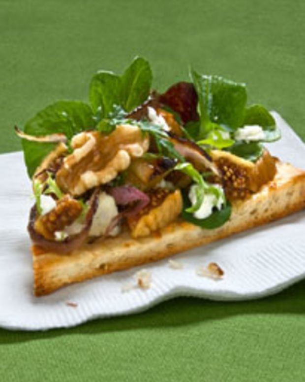 Harvest Appetizer Pizza w/ California Walnuts, Fresh Figs & Goat Cheese