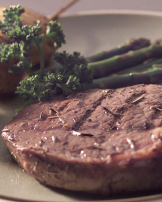 Lemon Herb Grilled Steak