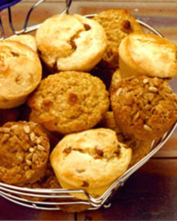 Sunflower Pumpkin Muffins