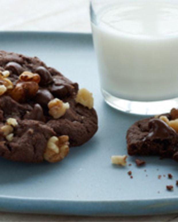 Devil Food Fudge Cookies