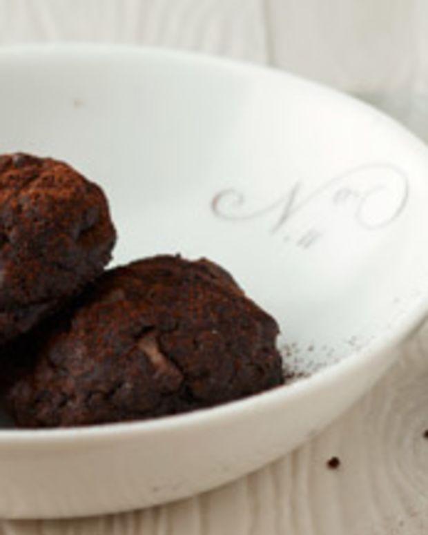 Brownie Cookie Macaroons