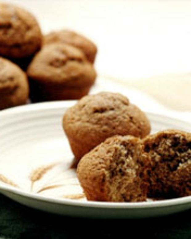 White Whole Wheat Muffins