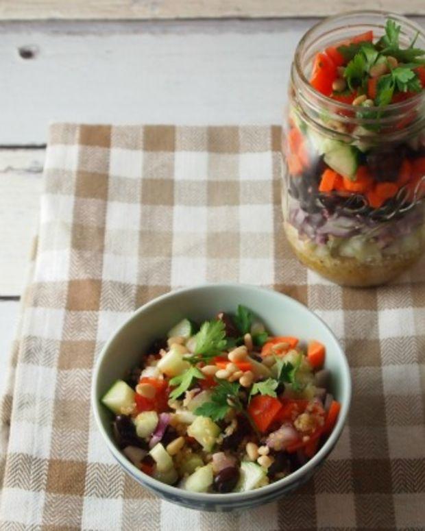 ten commandment layer salad