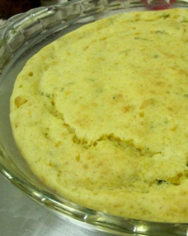 gluten free sage corn kugel