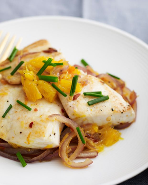 Spicy Citrus Tilapia with Asian Noodles