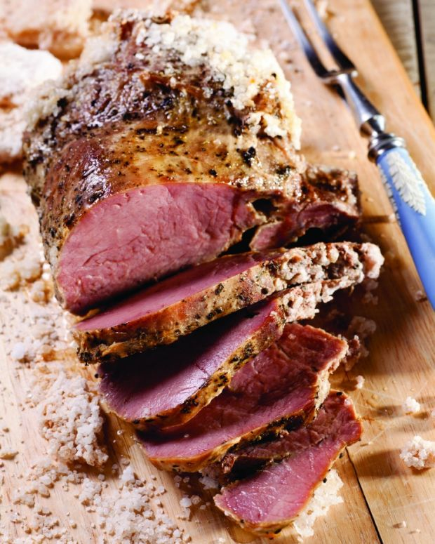 Herb-Roasted Beef in a Salt Crust