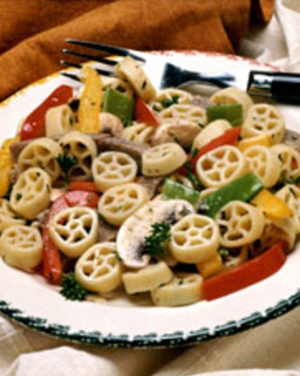 Western Beef & Pasta Salad