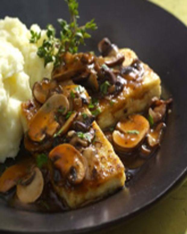 Tofu Cutlets Marsala