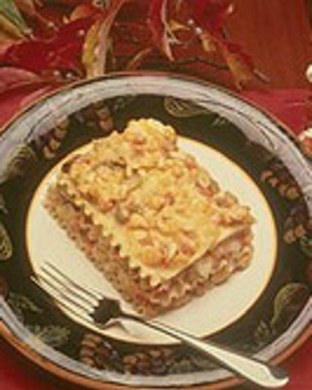 Winter Vegetable Lasagne