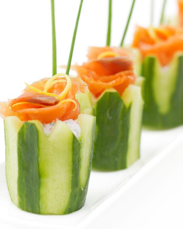Passover Cucumber Cups