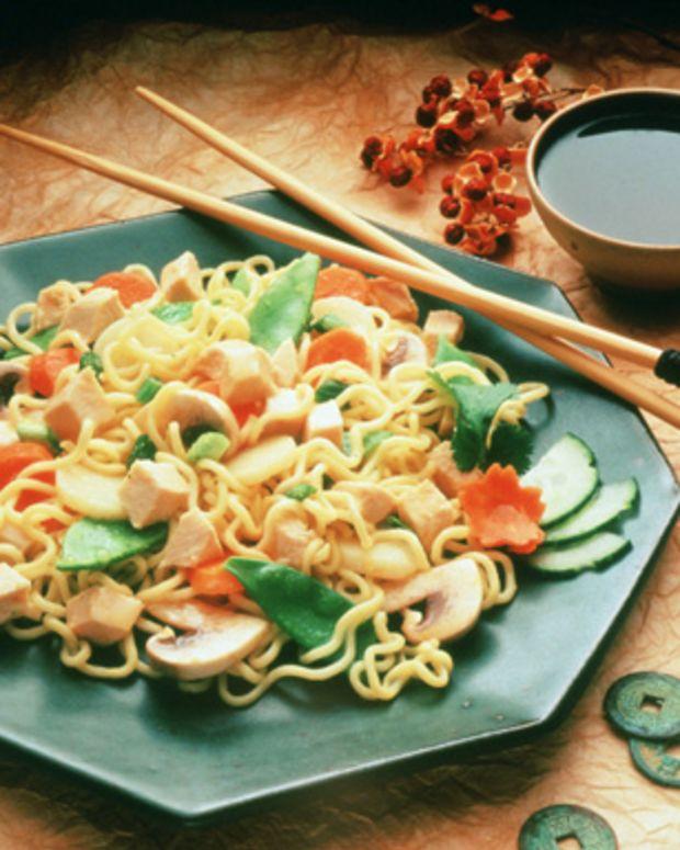 Oriental Turkey Noodle Salad