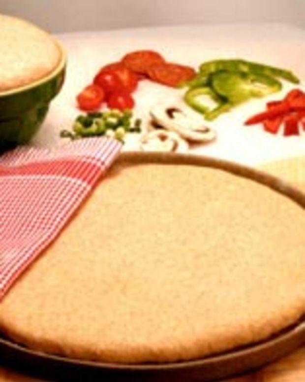 Quick Whole Wheat Pizza Crust