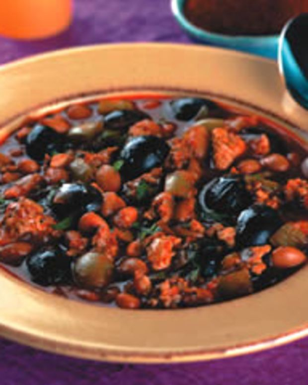 Chipotle Olive Turkey Chili