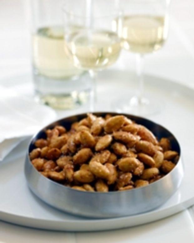 Vanilla Sugared Almonds