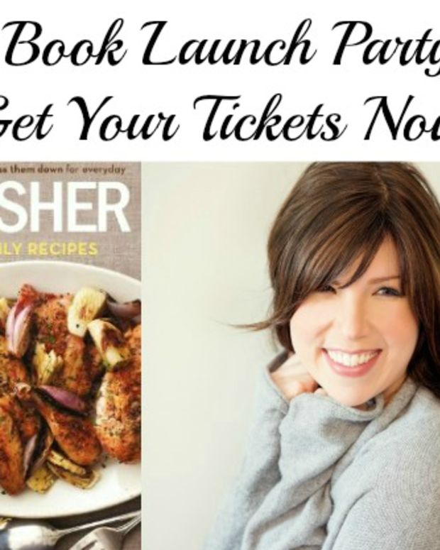joy of kosher cookbook party