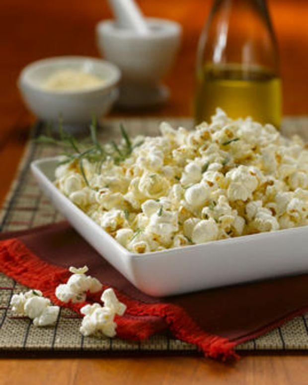 Rosemary Parmigiano – Reggiano Popcorn